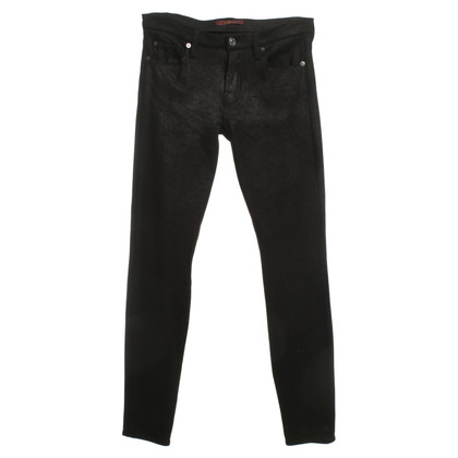 7 For All Mankind Pantaloni in Black