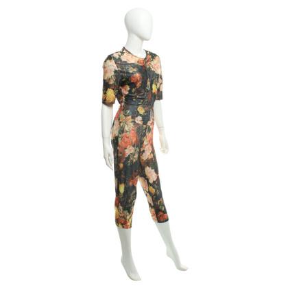 Bogner 3 stuk kostuum met een bloemmotief