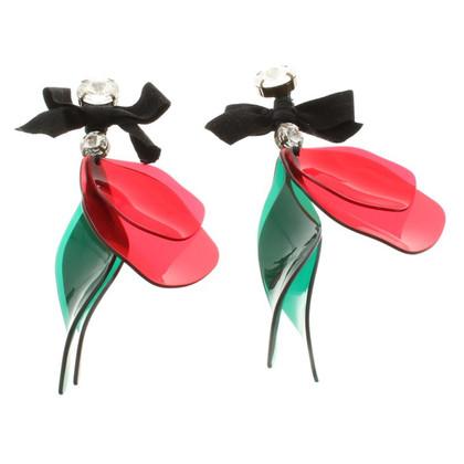 Marni for H&M Boucles d'oreilles clip avec pendentif coloré