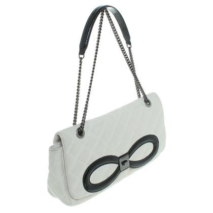 Moschino Crema di borsa borsetta bianco