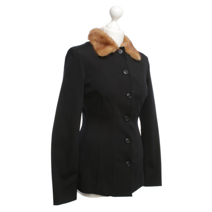 Dolce & Gabbana Blazer with fur collar
