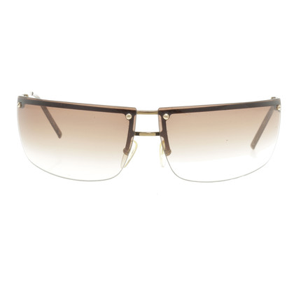Gucci Sunglasses in Brown and gold