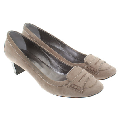Tod's pumps from suede