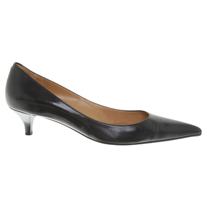 Hermès Pumps in Schwarz
