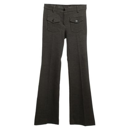 Patrizia Pepe Pantaloni in nero/grigio