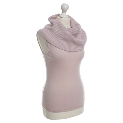 Christian Dior Gilet con collo in cascata