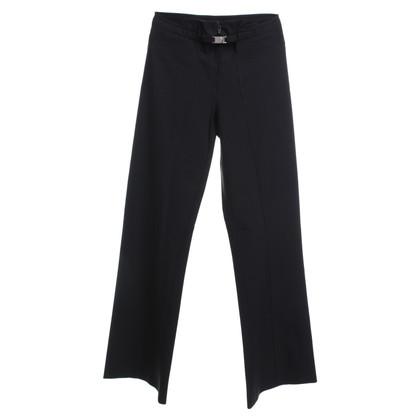 Marithé et Francois Girbaud trousers in black