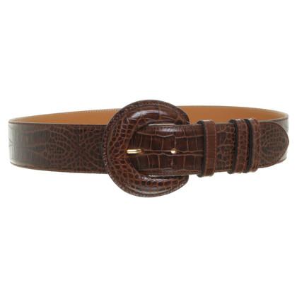 Escada Belt in Brown