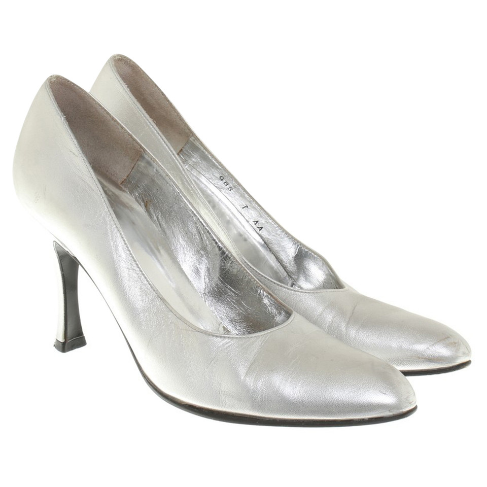 Other Designer Charles Jourdan - Silver-Colored pumps