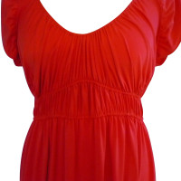 Hale Bob coral red dress