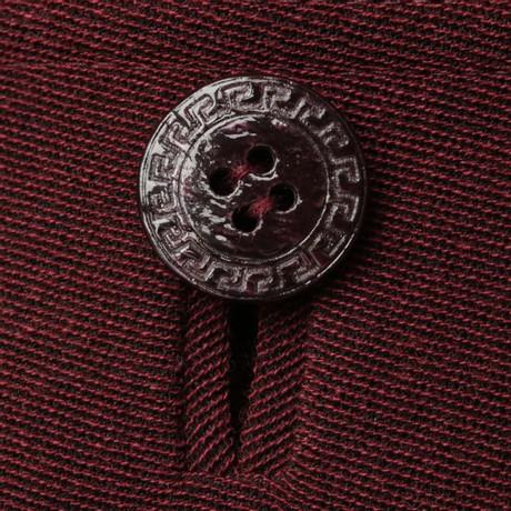 Ausgang Finden Große Billige Websites Gianni Versace Dreiteiliges Kostüm Bordeaux Auslassstellen Günstiger Preis Angebote Günstig Online jb9RGiq