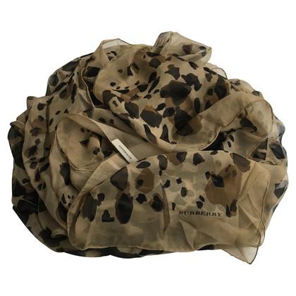 Burberry Zijden sjaal met animal print