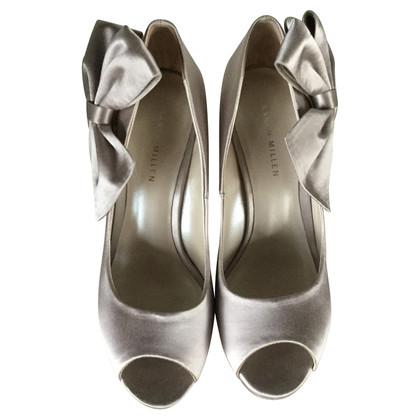 Karen Millen Peep-toes with bow