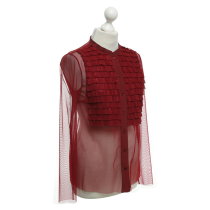 Other Designer Atos Lombardini - blouse in Bordeaux