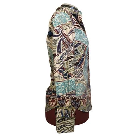 Verkauf Wirklich Etro Bluse mit buntem Muster Bunt / Muster Erschwinglich 5EZP4