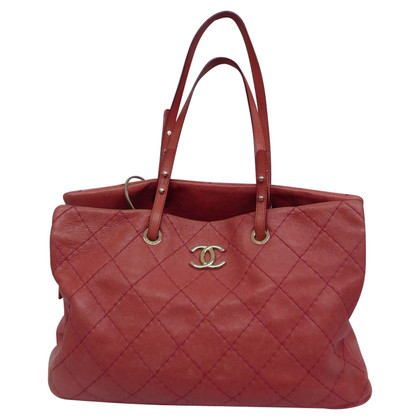 Chanel Shopper with quilted pattern