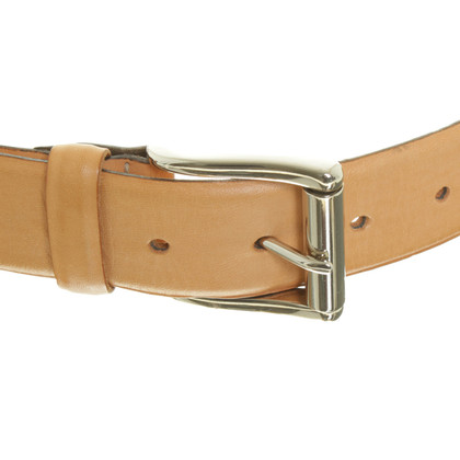 Hemisphere Belt with reptile leather