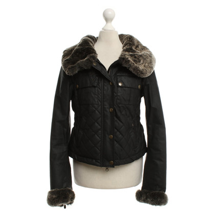 Belstaff Dark brown biker style jacket