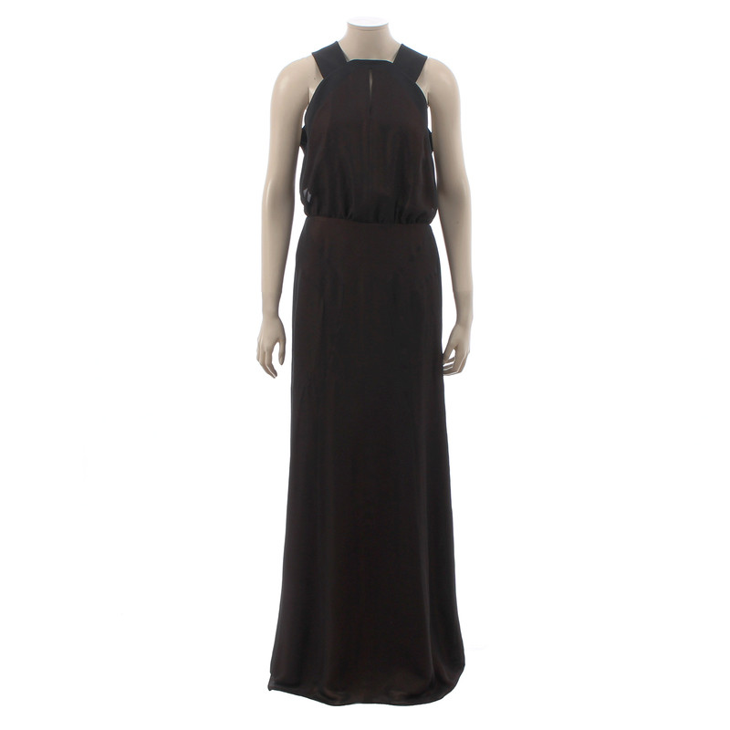 Faith Connexion Evening dress with metallic shimmer