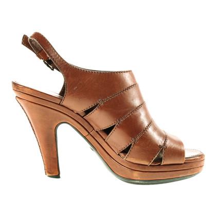 Tod's Bruin sandalen