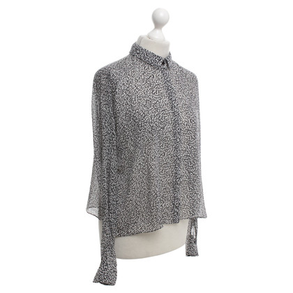 Dorothee Schumacher Silk blouse in bicolour