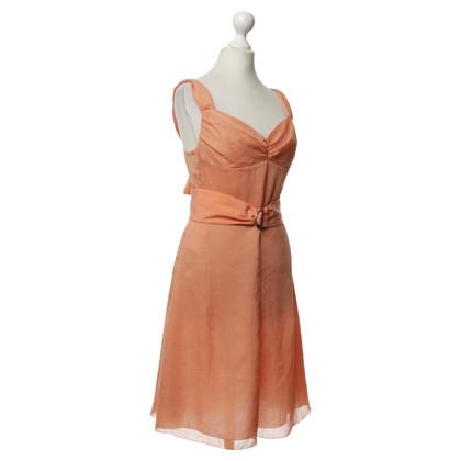 Hugo Boss Kleid in Korallfarben