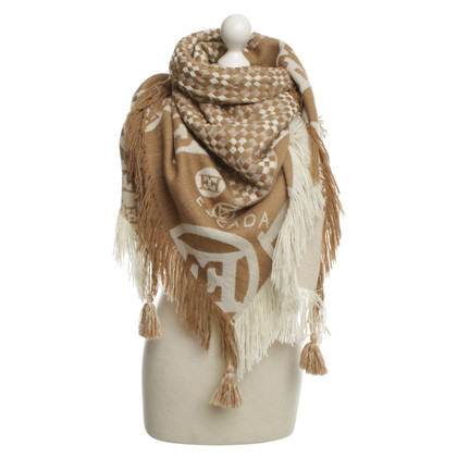 Escada Knitted scarf with pattern