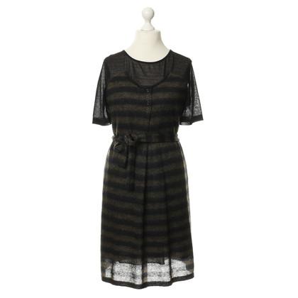 Marc Cain Stripe brei jurk