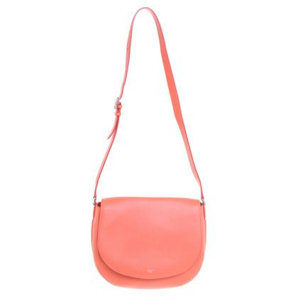 Céline Shoulder bag in coral red