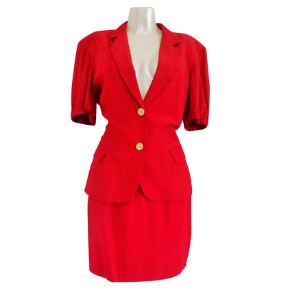 Moschino Cheap and Chic Red suit
