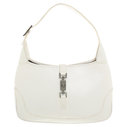 "Gucci ""Jackie Shoulder Bag"" en blanc"