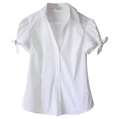 Steffen Schraut Short sleeve blouse in white