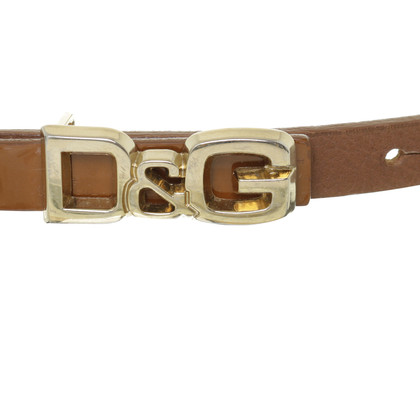 D&G Belt with logo buckle