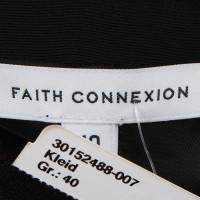 Faith Connexion Abendkleid mit metallischem Schimmer