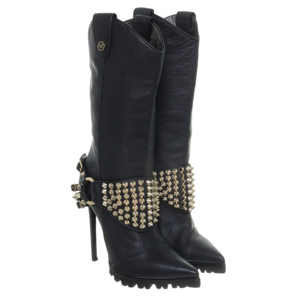 Philipp Plein Boots with studs