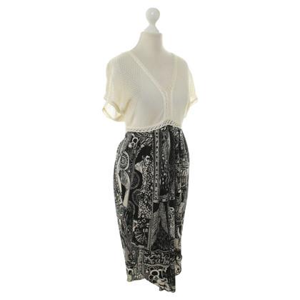 Jean Paul Gaultier Kleid mit Muster