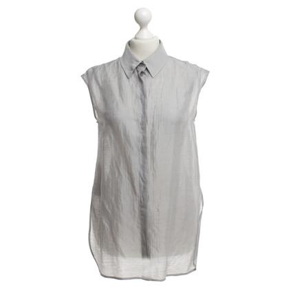 Armani Collezioni gestreepte blouse