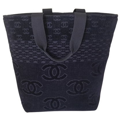 "Chanel ""Jumbo Cabas Bag"""