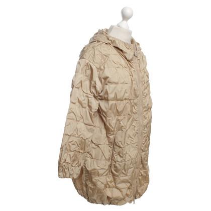 Moncler Long raincoat in beige