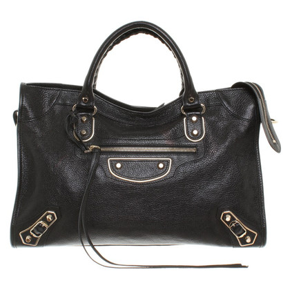 "Balenciaga ""Classic City Bag"" in Black"