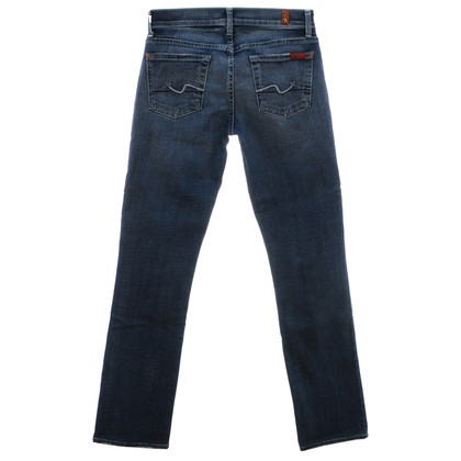 7 For All Mankind Mittelblaue Jeans