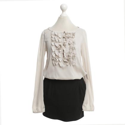 Patrizia Pepe Dress in beige / black