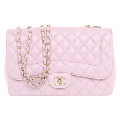 "Chanel ""Classic Flap Bag Medium"" in Rosé"