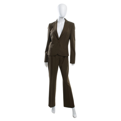 Hugo Boss Suit in donkergroen