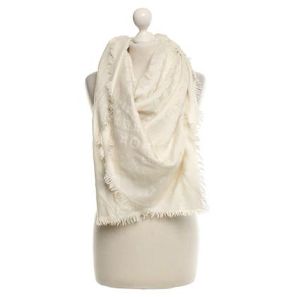 Louis Vuitton Monogram towel in cream