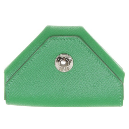 Hermès Mini wallet in green