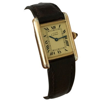 "Cartier ""Must Tank Watch"""