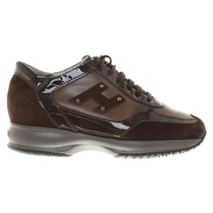 Hogan Chaussures de sport à Brown