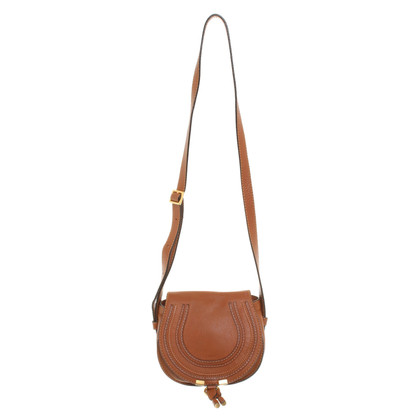 "Chloé ""Marcie Bag Small"" in Brown"