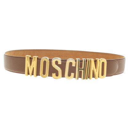 Moschino Belt with logo application